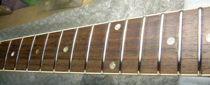 1961 Gibson ES-335 Neck - After