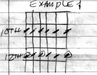 Alternate Tuning example 1