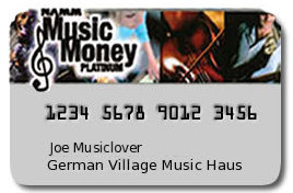 NAMM Music Money card